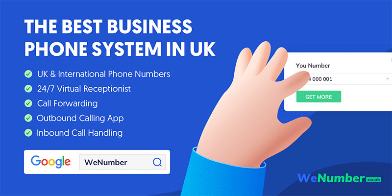wenumber business phone system